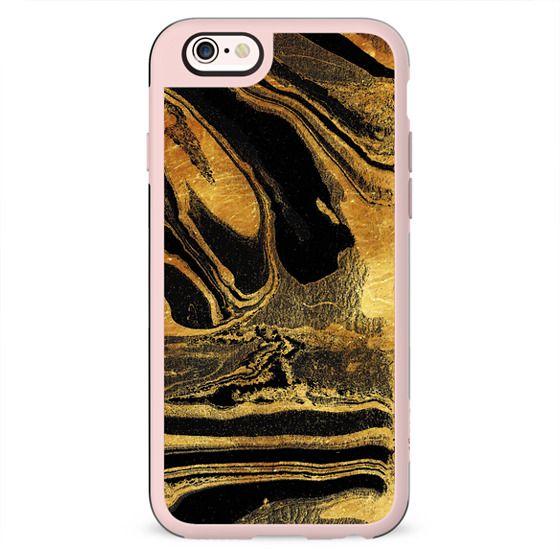 Golden marble paint