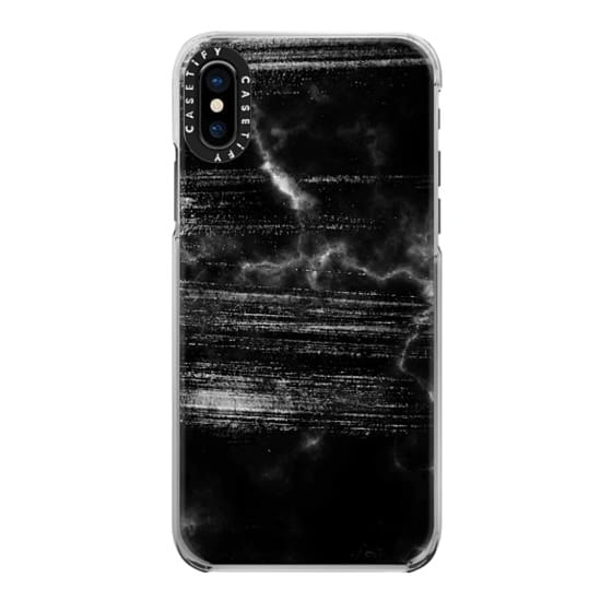 iPhone 6s Cases - Scratched black marble II
