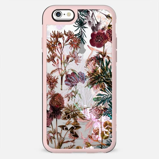 Botanical drawing clear case