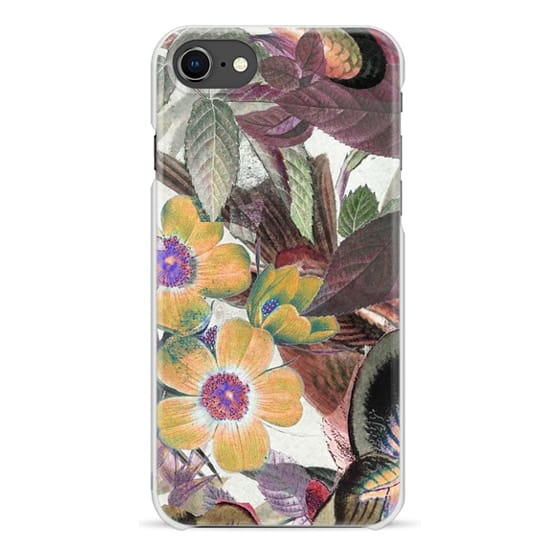 iPhone 7 Plus Cases - Minimal brown flower illustration
