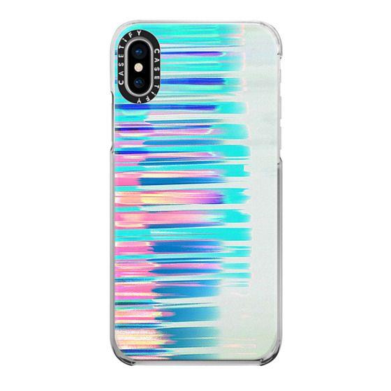 iPhone 6s Cases - Gradient neon pastel stripes