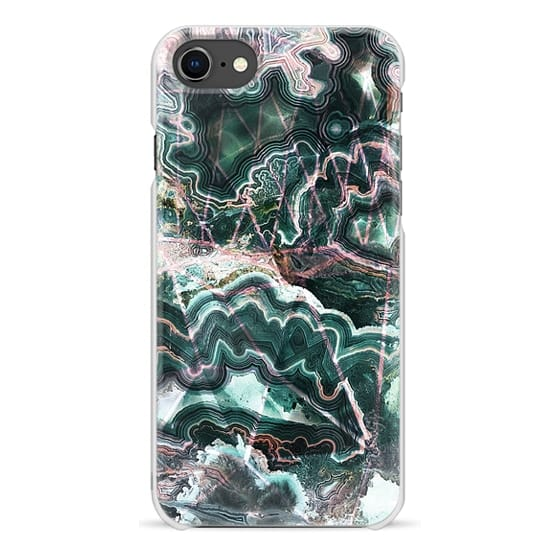 iPhone 6s Cases - Emerald green precious stones