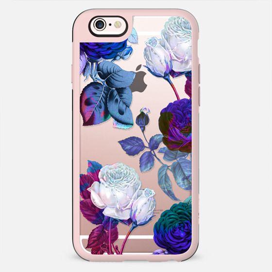 Blue roses botanical illustration - New Standard Case