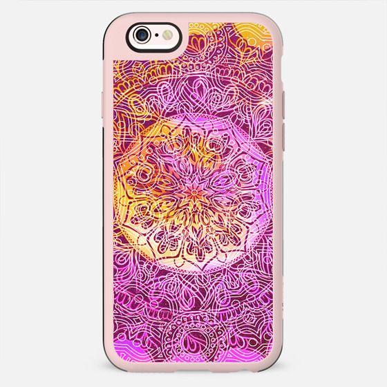 Bright solar mandala art - New Standard Case