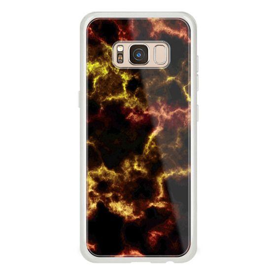 iPhone 6s Cases - Dark golden marble texture