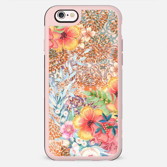 Colorful hippy florals