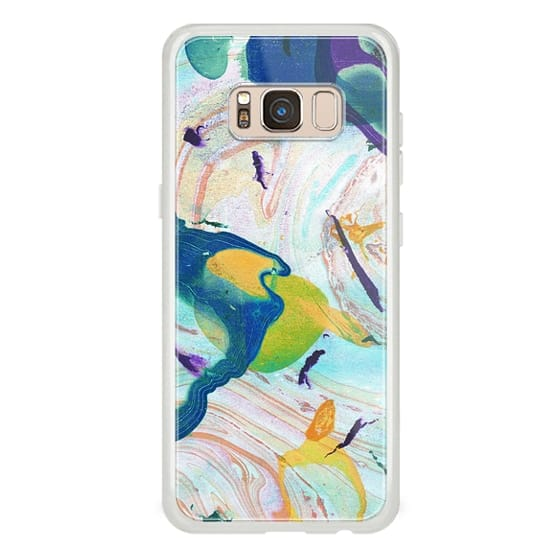 iPhone 7 Plus Cases - Colorful painted liquid marble