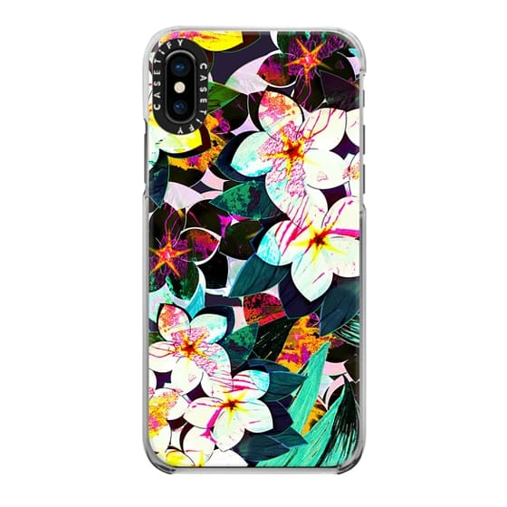 iPhone 6s Cases - Painted tropical flowers bright pattern II
