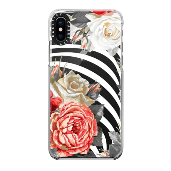 iPhone 7 Plus Cases - Red white roses and stripes