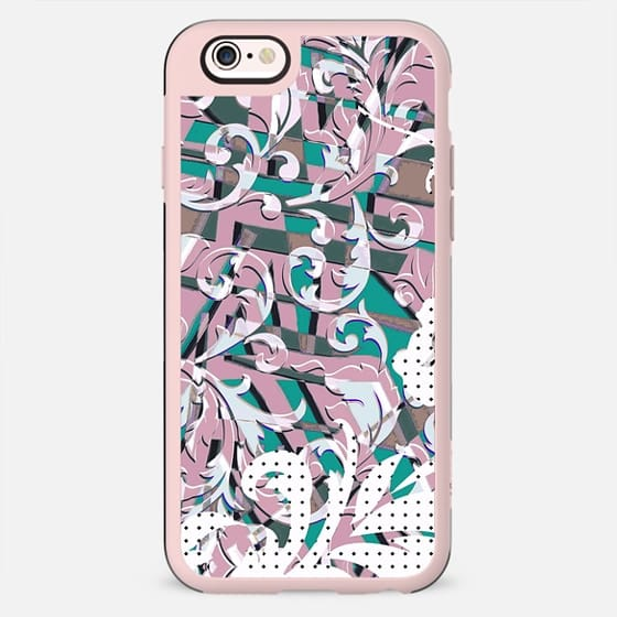 Dots and pastel foliage pop art - New Standard Case