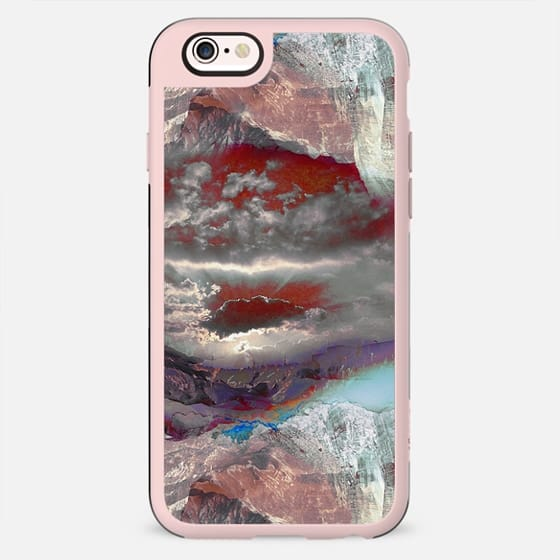 Pinted rocky mountain landscape - New Standard Case