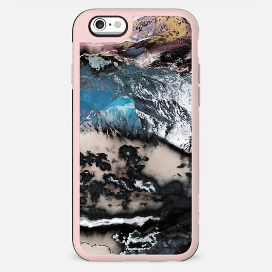Black clouds and mountain landscape - New Standard Case