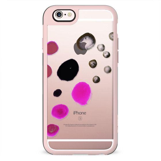 Paint splatter dots