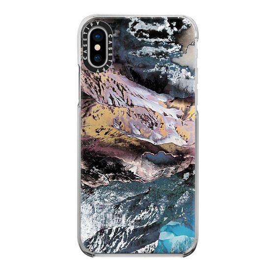 iPhone 6s Cases - Rock texture close-up mountain landscape