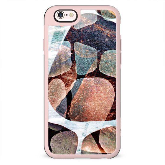 Colourful stone pebbles