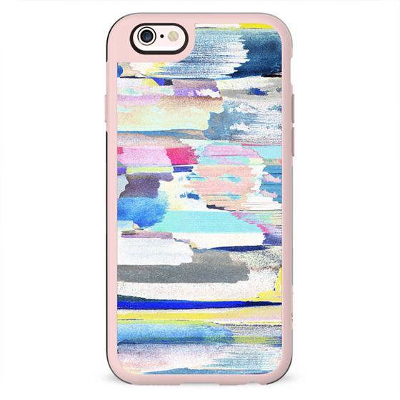 Colourful brushstrokes
