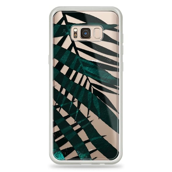 iPhone 6s Cases - Metallic palm leaves
