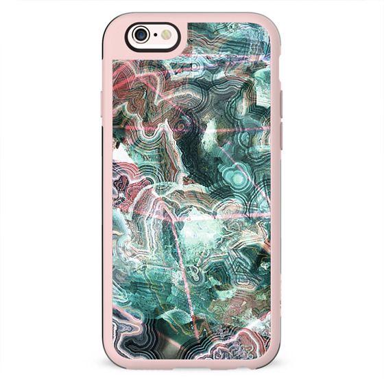 Turquoise precious marble cut