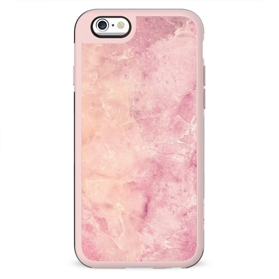 Peach pink marble