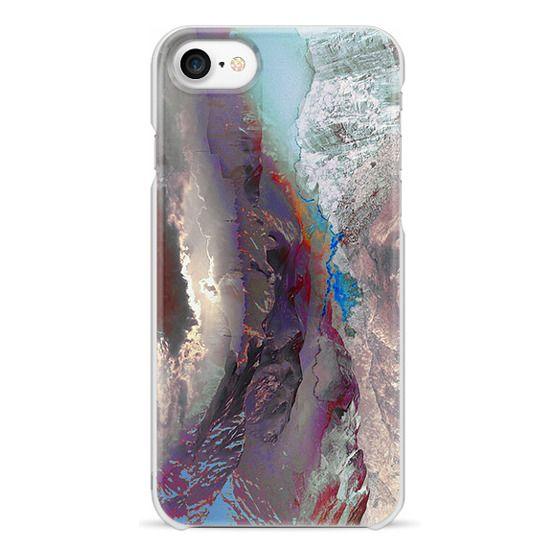 iPhone 7 Plus Cases - Artistic mountain landscape