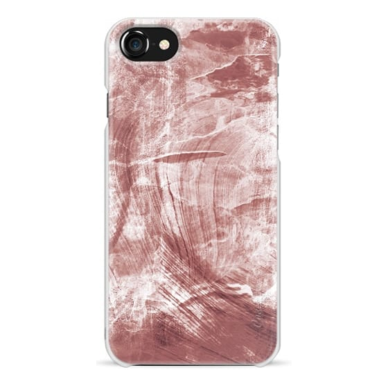 iPhone 6s Cases - Pastel sepia painted marble