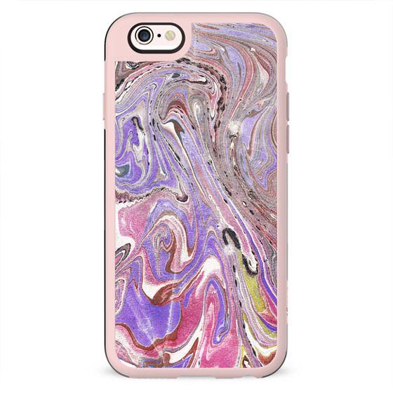 pink purple marble paint