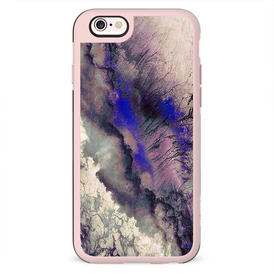 Purple crackes marble