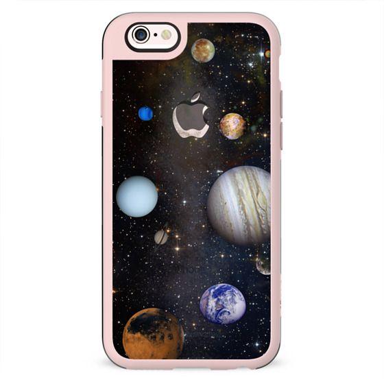 Transparent dreamy Universe case
