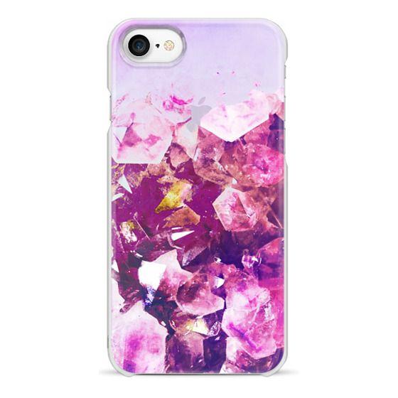 iPhone 6s Cases - Magenta purple precious stones