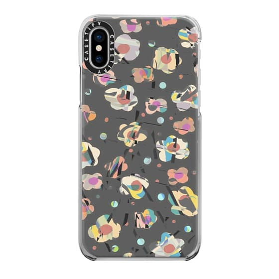 iPhone 6s Cases - Dotted sketched flowers