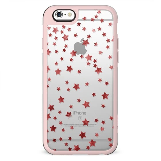 stars clear case
