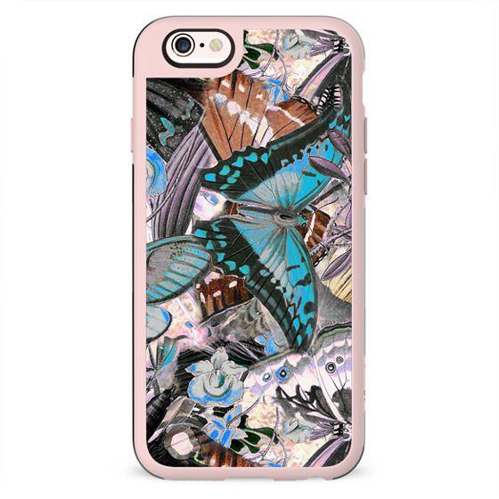 Butterfly wings illustration pattern