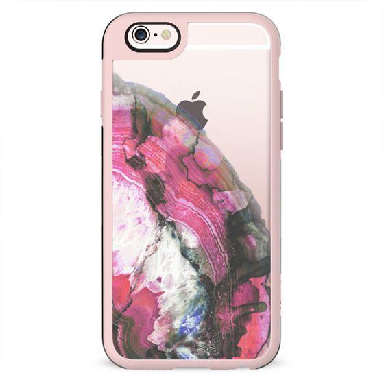 Pink precious gem transparent