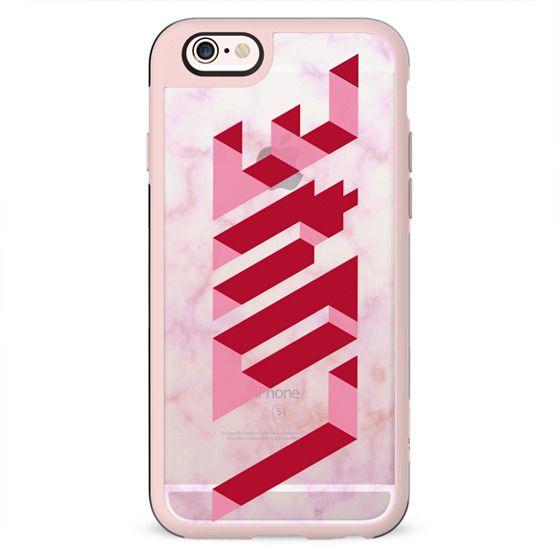 Love 3d Pink marble - Valentine's