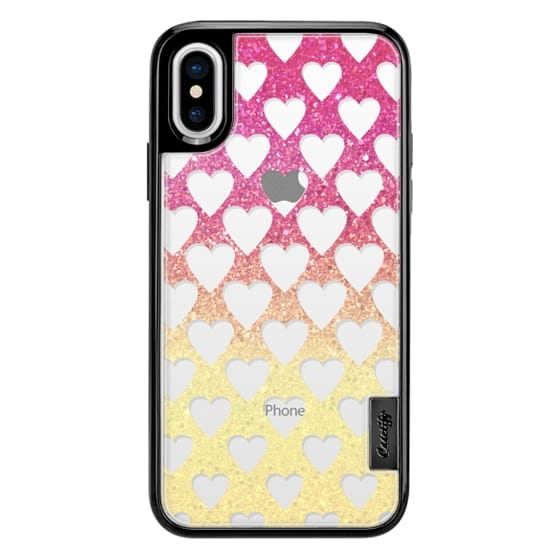 iPhone 7 Plus Cases - Sweet sparkle party hearts