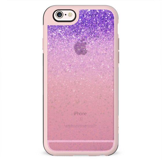 Pink sparkle transparent gradient