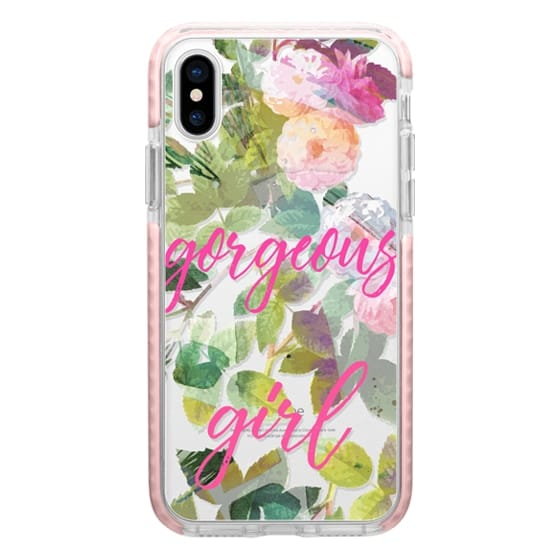 iPhone 6s Cases - Pink painted roses gorgeous girl clear