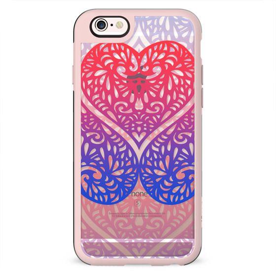 lace hearts gradient transparent