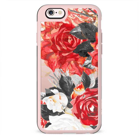 Stylised rose petals