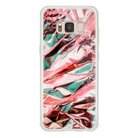 iPhone 7 Plus Cases - Metallic foil abstract art