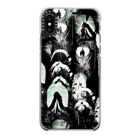 iPhone 7 Plus Cases - Tribal painted feathers