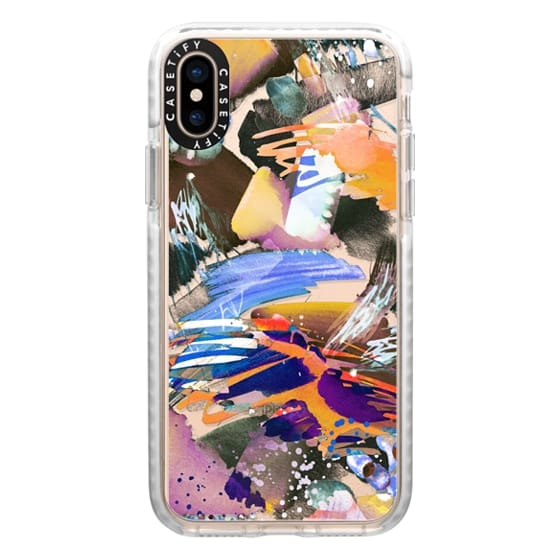 iPhone XS Cases - Watercolor painting