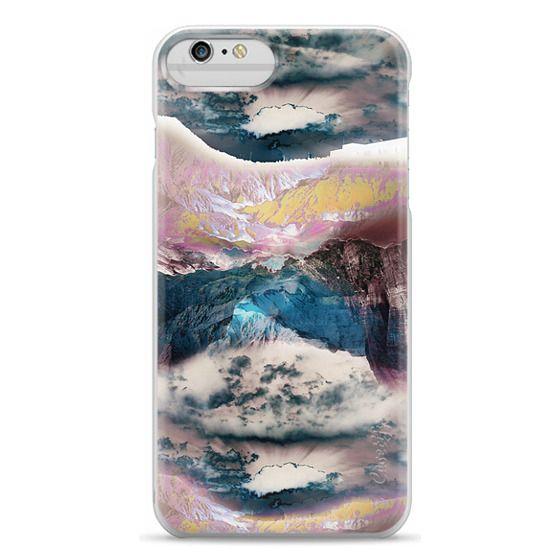 iPhone 6 Plus Cases - Cloudy mountain landscape