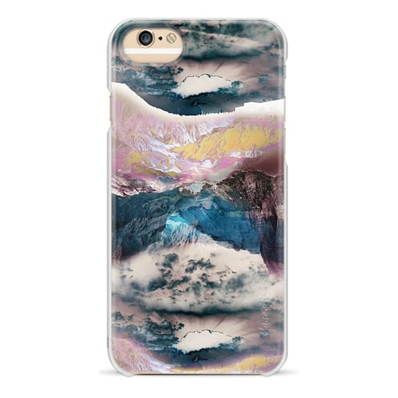 iPhone 6 Cases - Cloudy mountain landscape