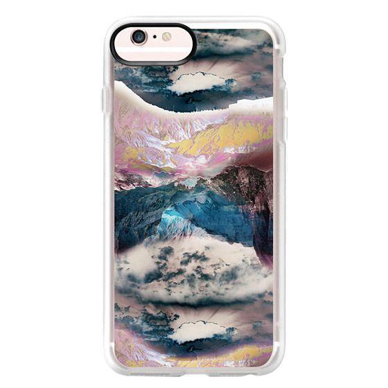 iPhone 6s Plus Cases - Cloudy mountain landscape