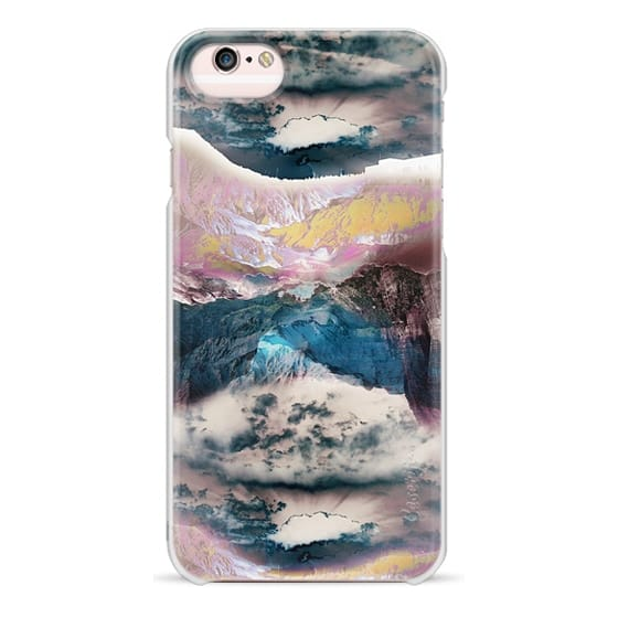iPhone 6s Cases - Cloudy mountain landscape