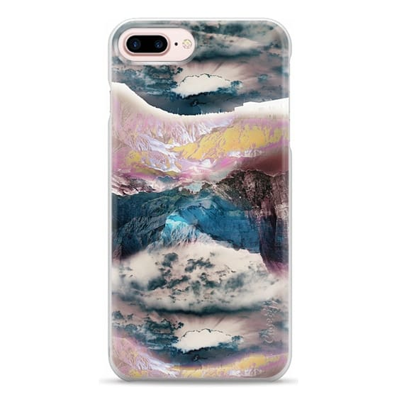 iPhone 7 Plus Cases - Cloudy mountain landscape