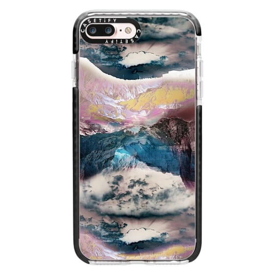 iPhone 7 Plus Cases - Cloudy mountain landscape
