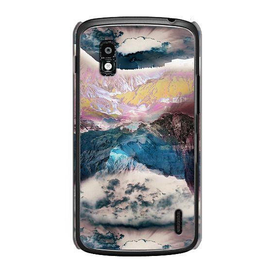 Nexus 4 Cases - Cloudy mountain landscape