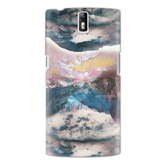 One Plus One Cases - Cloudy mountain landscape